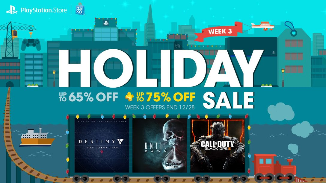 Holiday Sale Week 3: COD Black Ops 3, The Taken King and More