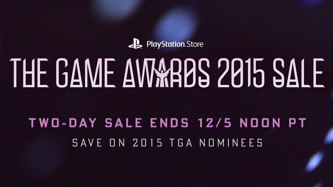 TGA Sale: Up to 60% Off Game Award Nominees