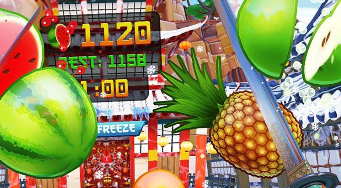 Fruit Ninja VR chops its way onto PlayStation VR today
