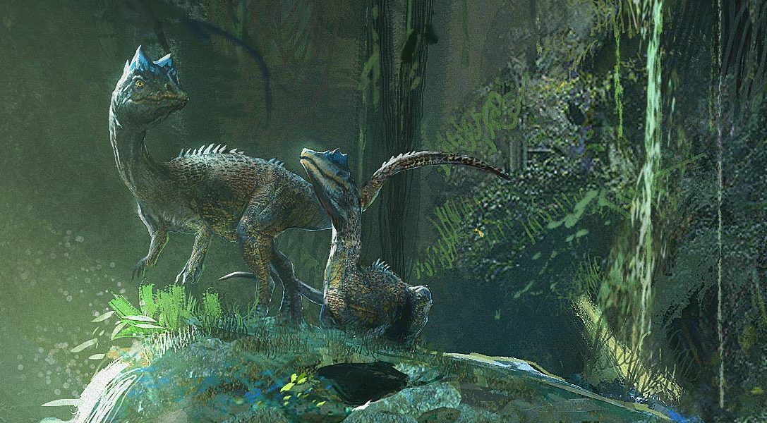 Ark Park, based in the world of Ark: Survival Evolved, is coming to PS VR in 2017