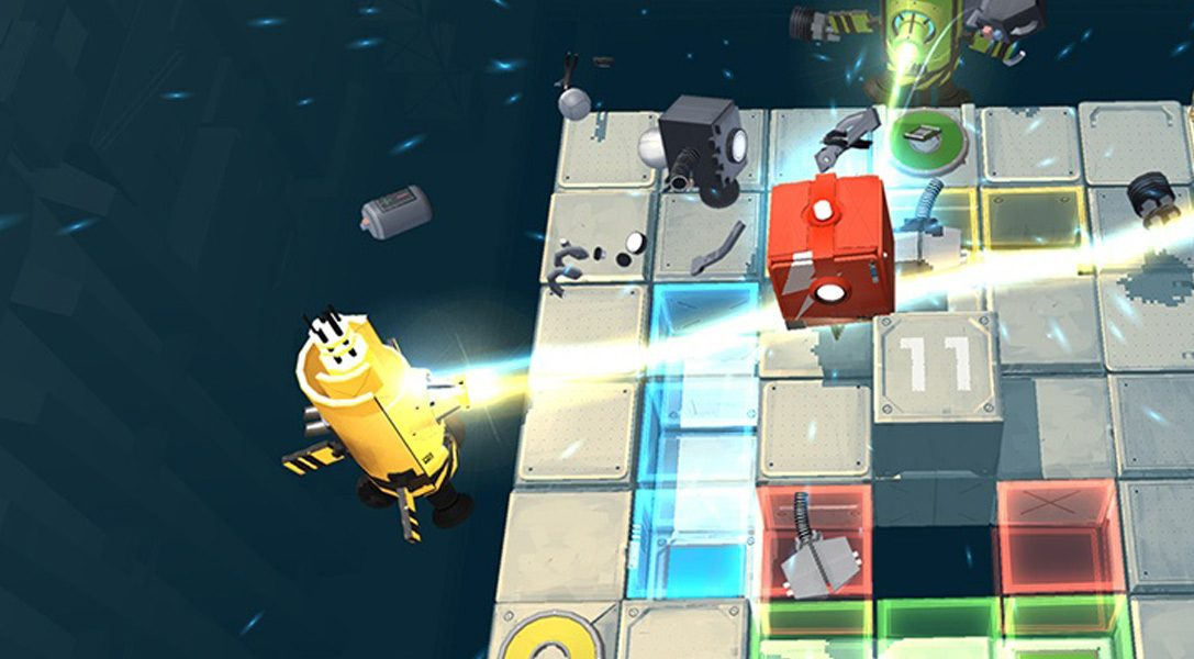 Relationship testing co-op puzzle game Death Squared coming to PS4 early 2017