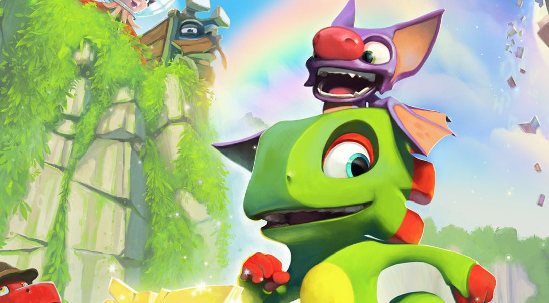 Phantasmagorical PS4 platformer Yooka-Laylee releases 11th April 2017