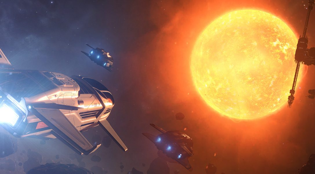 Explore, trade or fight across the galaxy in Elite Dangerous, coming to PS4 early 2017