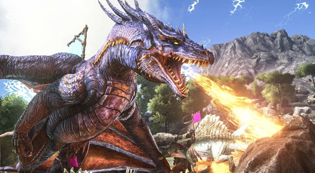 Live off the land in dinosaur-infested open world PS4 title Ark: Survival Evolved, out today