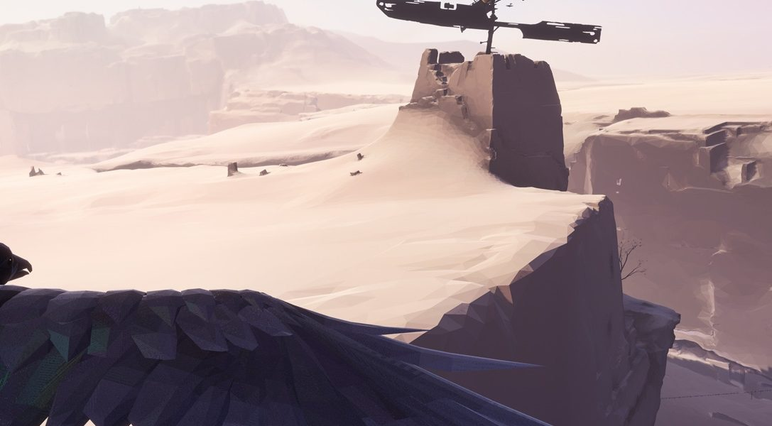 Mysterious minimalistic 3rd-person adventure Vane announced for PS4 at PSX
