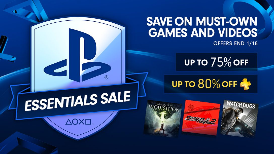 PlayStation Essentials Sale: Up to 75% Off Must-Have Games