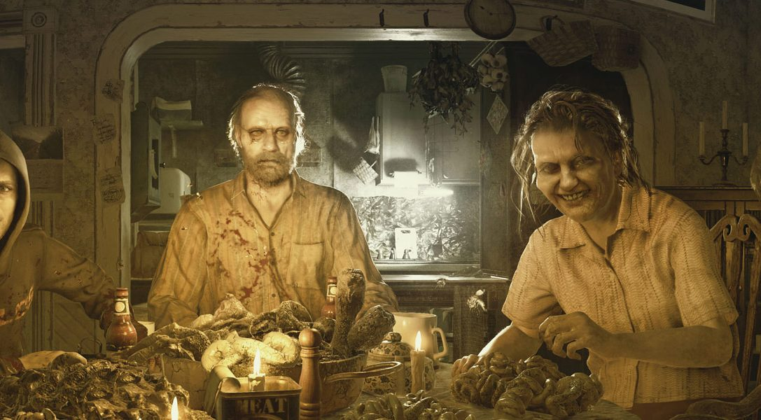 Experience the horrors of Resident Evil 7 Biohazard, available now on PS4