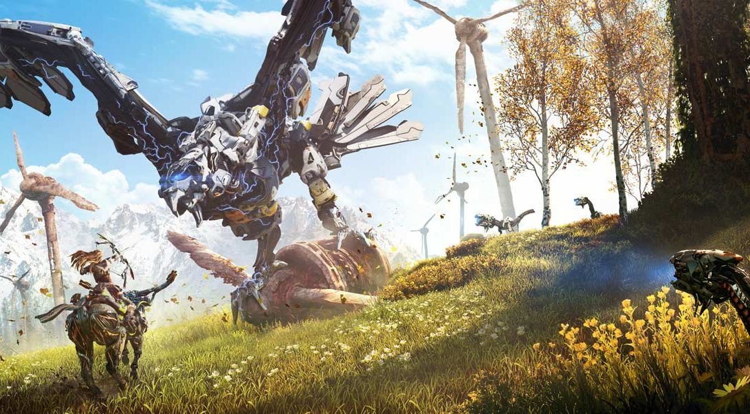 See a tantalising glimpse of Horizon Zero Dawn's story in new cinematic trailer