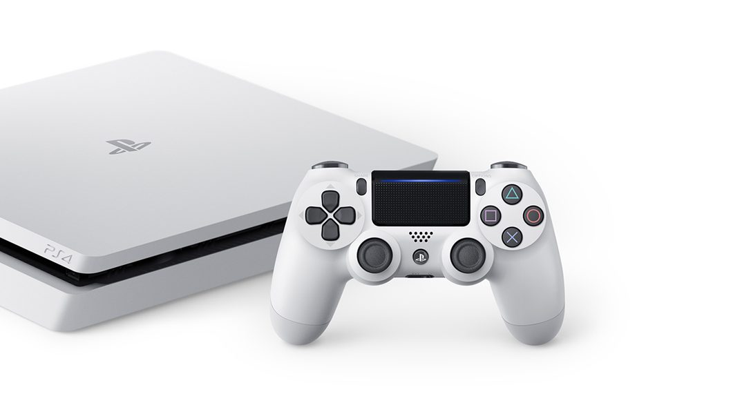 Introducing the new Glacier White PlayStation 4, out 24th January