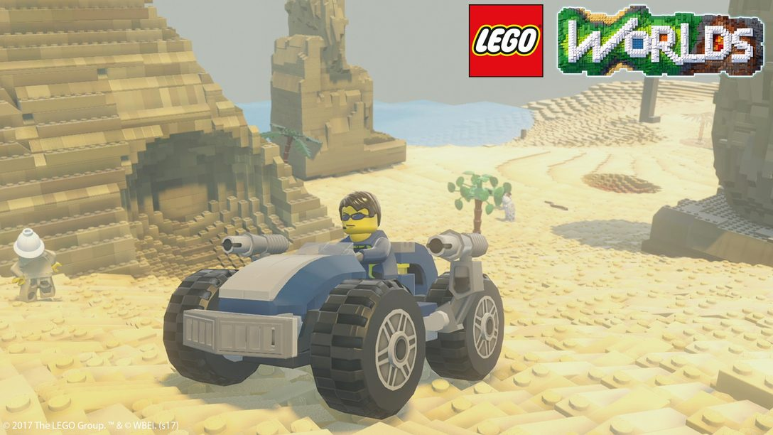 Lego Worlds Assembles on PS4 This March