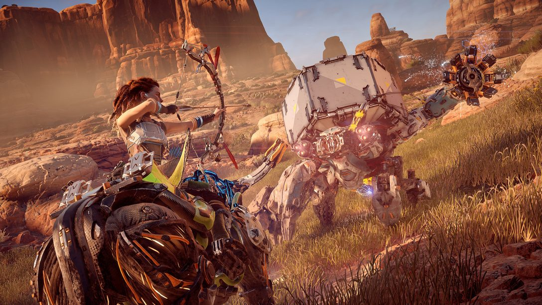 The Making of Horizon Zero Dawn's Machines