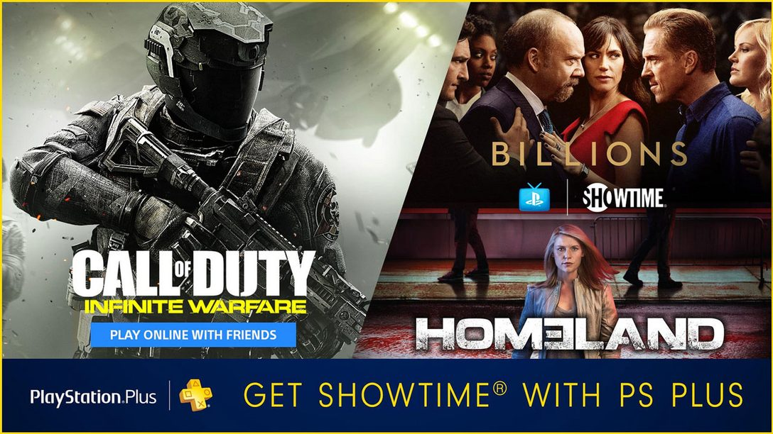 PS Plus Bundle: Buy 1 Year of Plus, Get 3 Additional Months of Plus and Showtime
