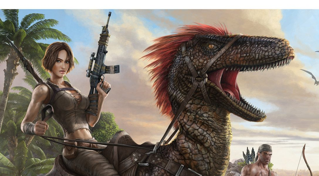 ARK: Survival Evolved is PlayStation Store's best-selling game for a second month