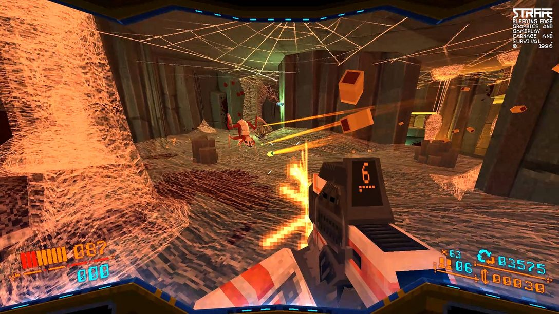 Prepare for an Impossibly Dangerous Mission in Strafe