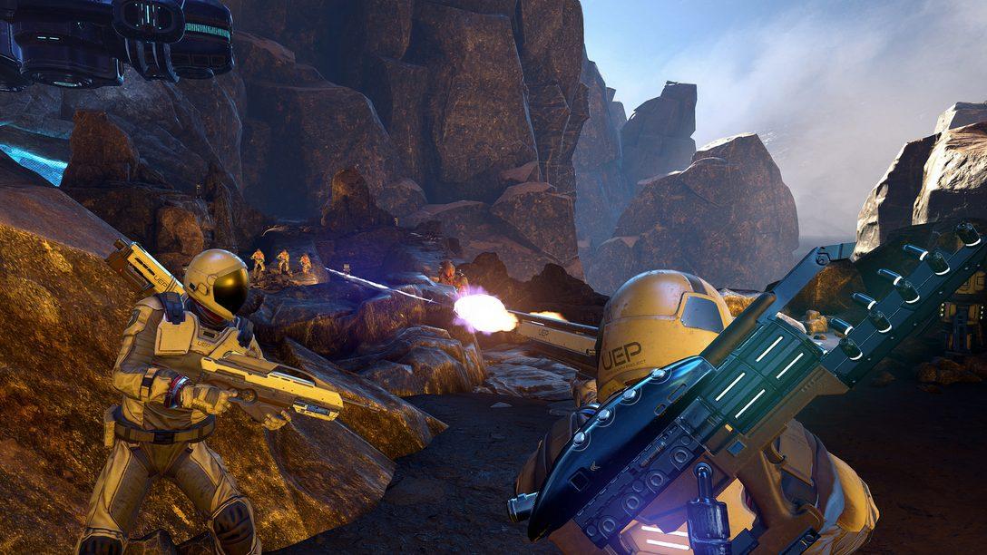 Farpoint: Meeting Your Friend on an Alien World