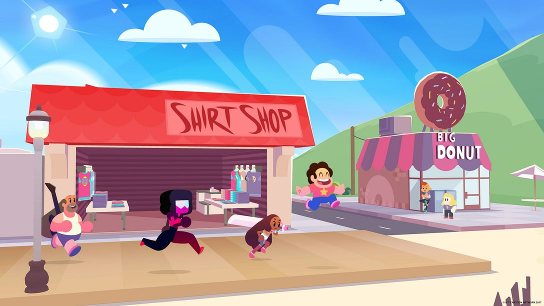 Steven Universe Save the Light Warping to PS4 This Year