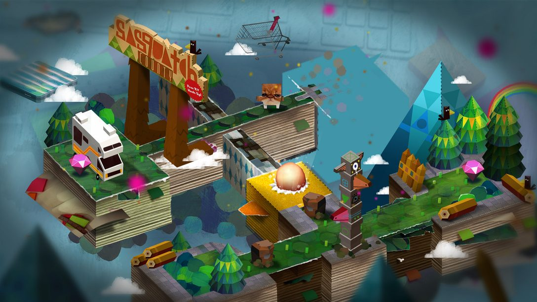Tearaway: Eight Unseen Concepts for Media Molecule's Papercraft Adventure
