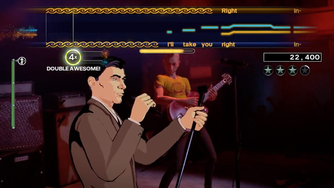Danger Zone! Sterling Archer Takes the Stage in Rock Band 4