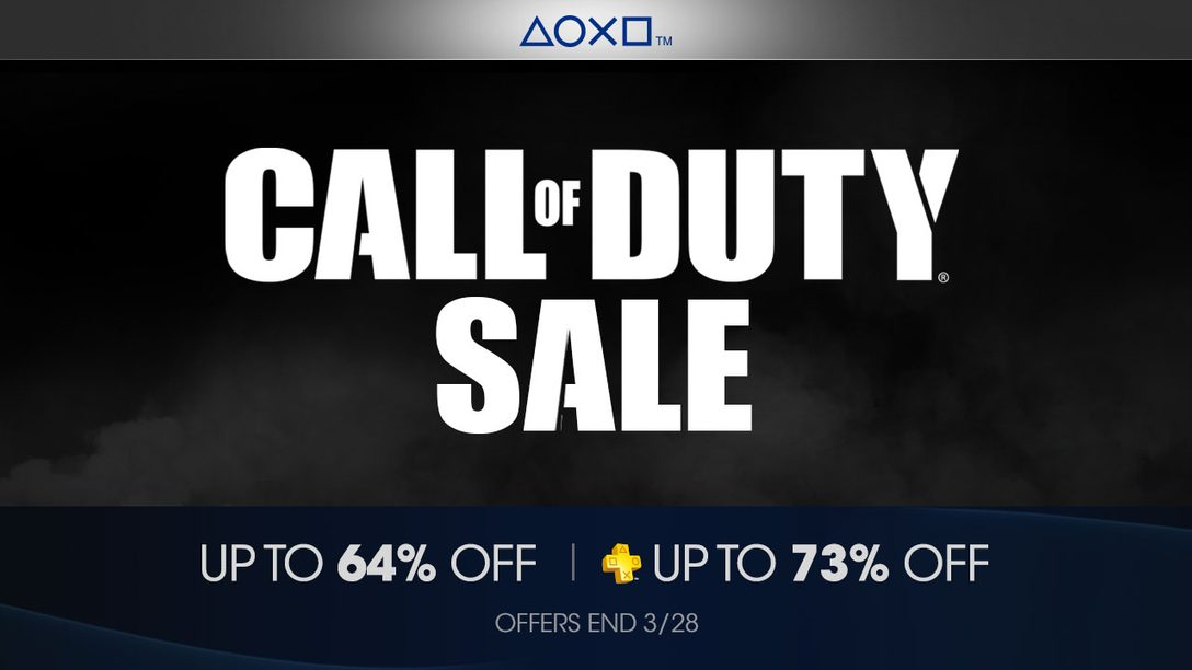 Call of Duty Franchise Sale On Now Through March 28th