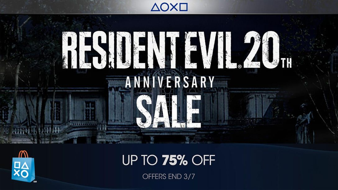 PS Store Kicks Off Game and Movie Franchise Sales with Resident Evil