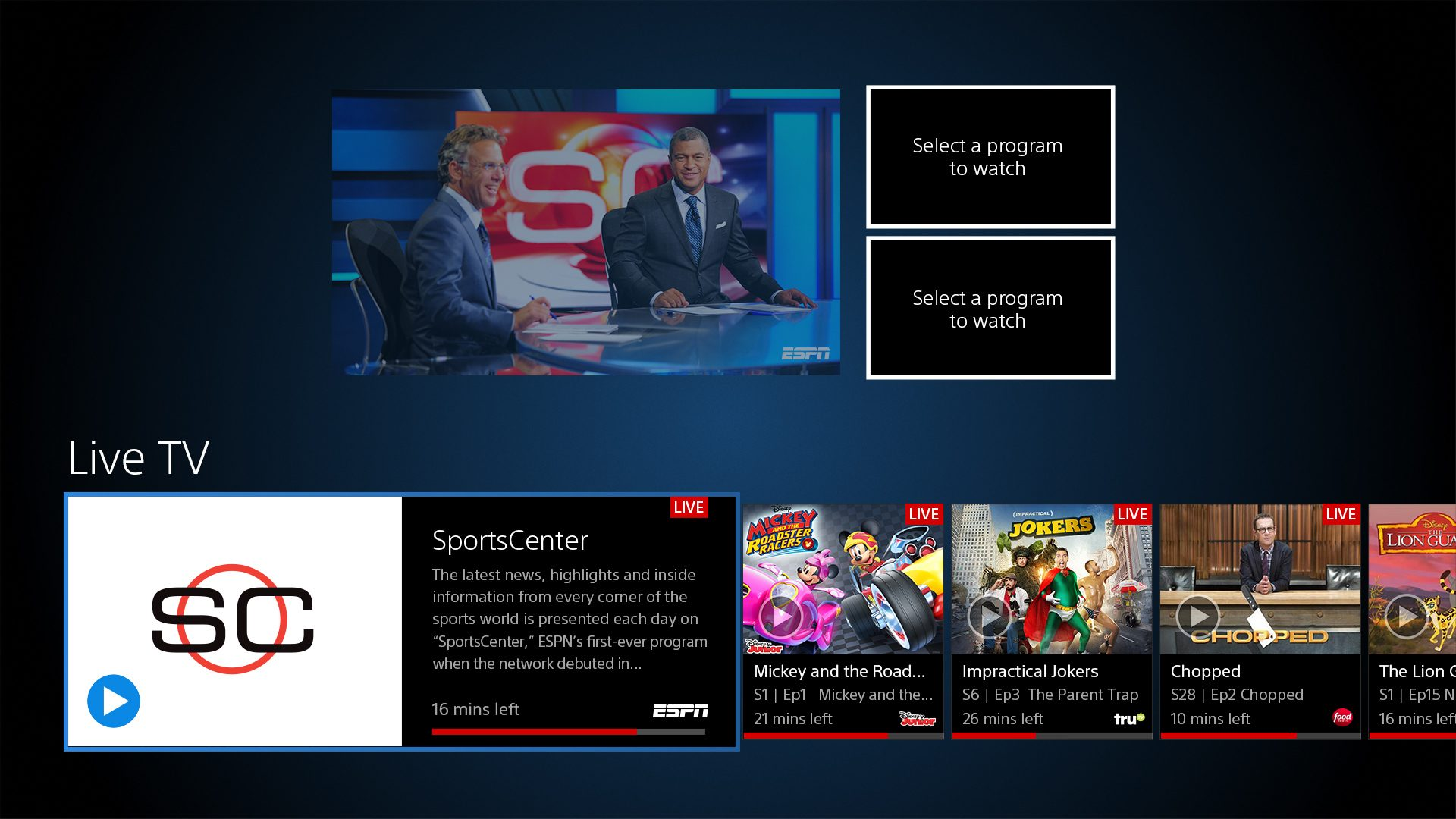 Ps Vue Watch Multiple Channels At Once With Multi View Out Today On Ps4 Playstation Blog