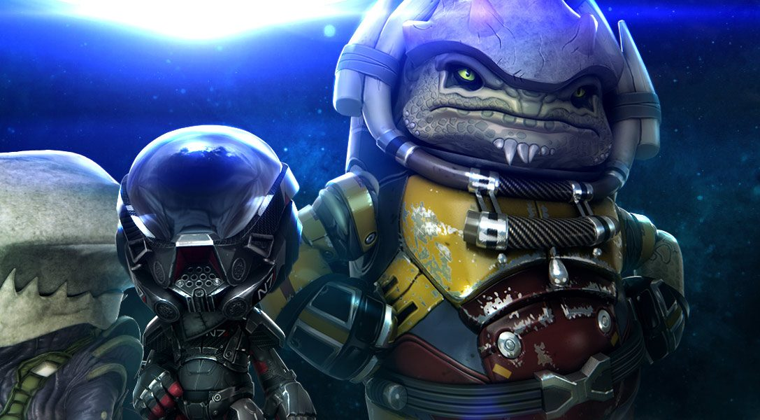 LittleBigPlanet 3's Mass Effect: Andromeda Costume Pack available for free today