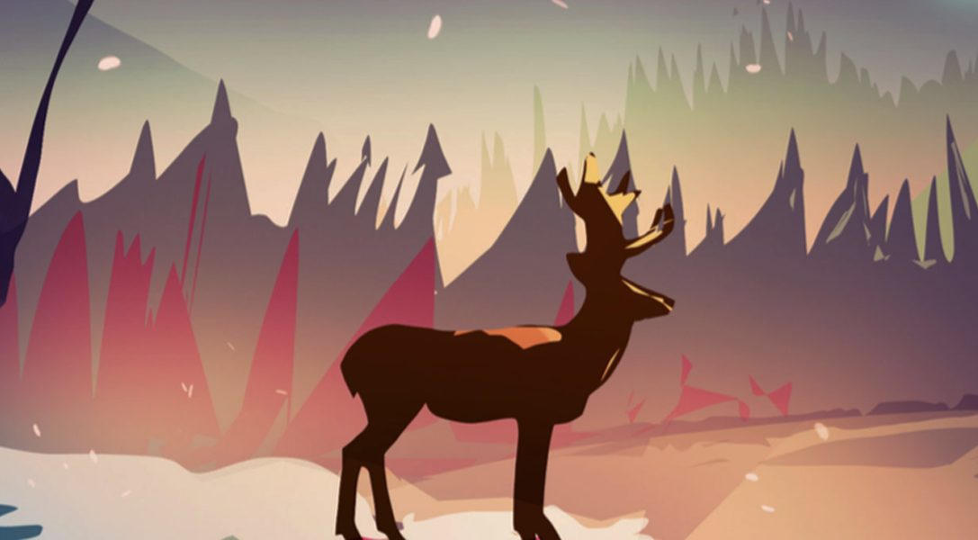Explore a pixel art wilderness on PS4 & PS Vita in The Deer God, out 25th April