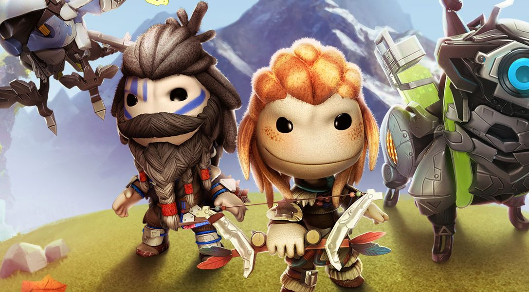 Celebrate Horizon Zero Dawn's launch in LittleBigPlanet 3 with tie-in costume pack, out now