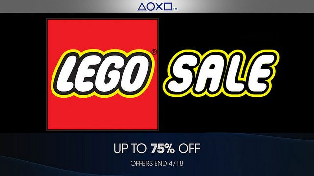 PlayStation Store Builds a Franchise Sale out of LEGO