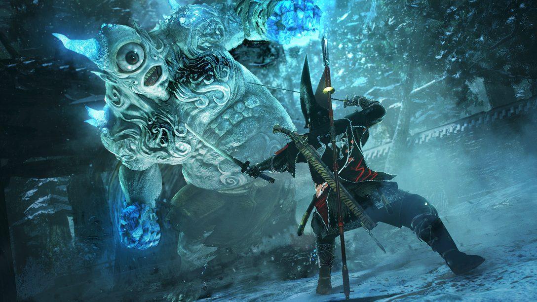 "Nioh DLC ""Dragon of the North"" Out May 2"