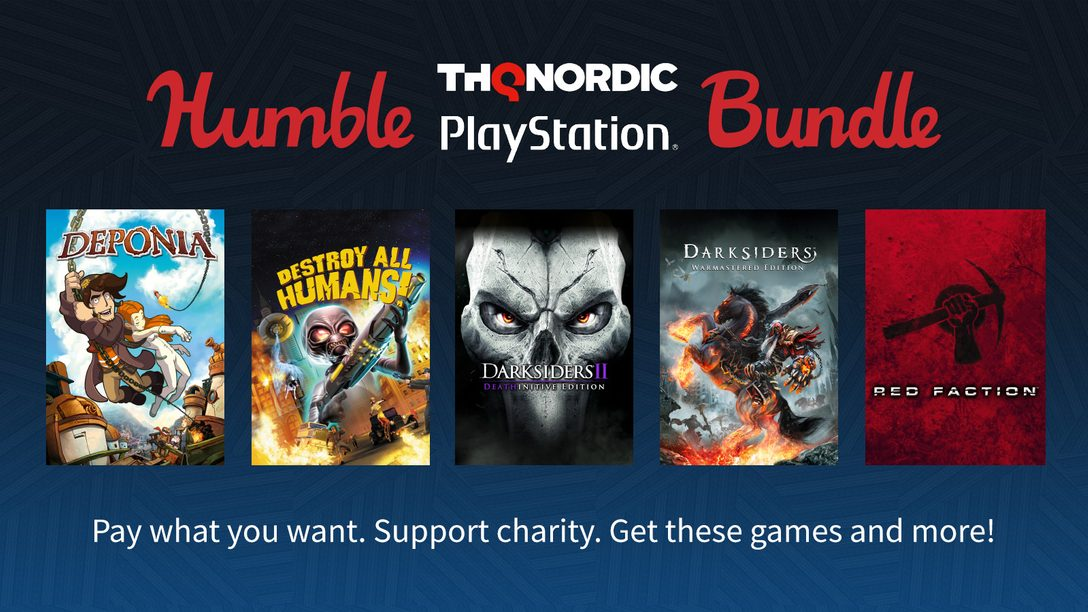 Humble THQ Nordic PlayStation Bundle Available Today