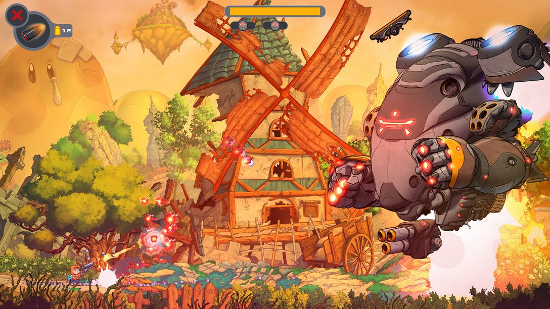 Protect a Planet of Classic Videogame Characters in Rise & Shine