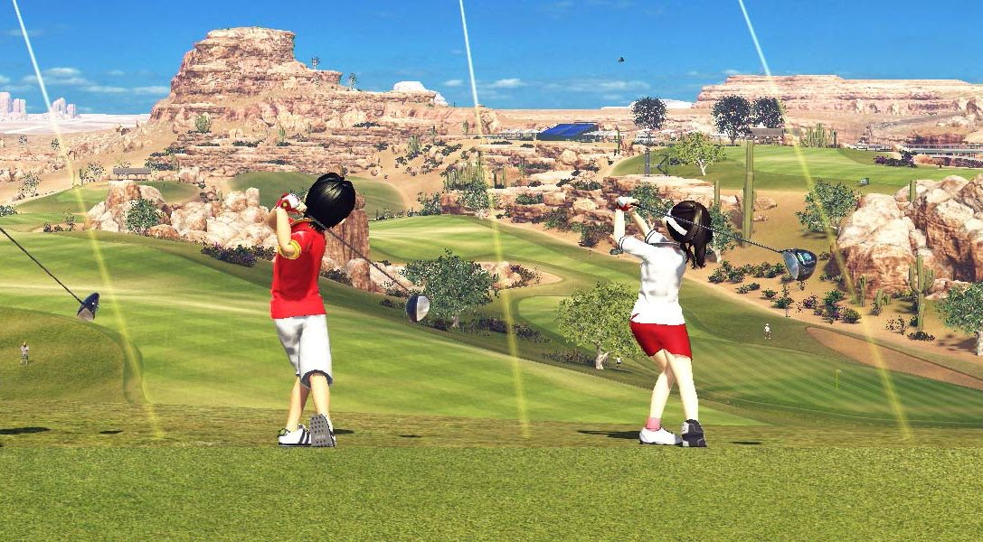Everybody's Golf tees off for PS4 on 30th August