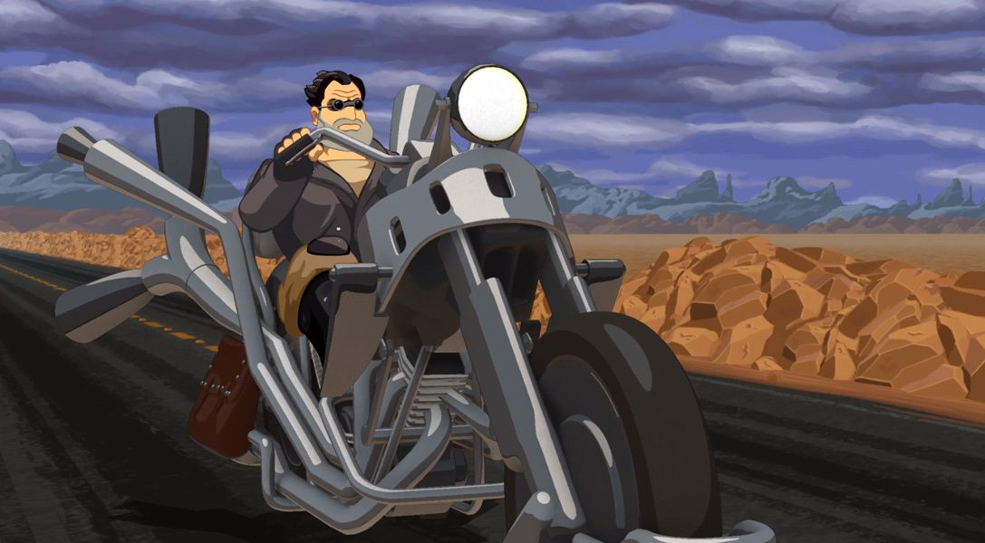 Classic adventure game Full Throttle Remastered arrives today on PS4, PS Vita