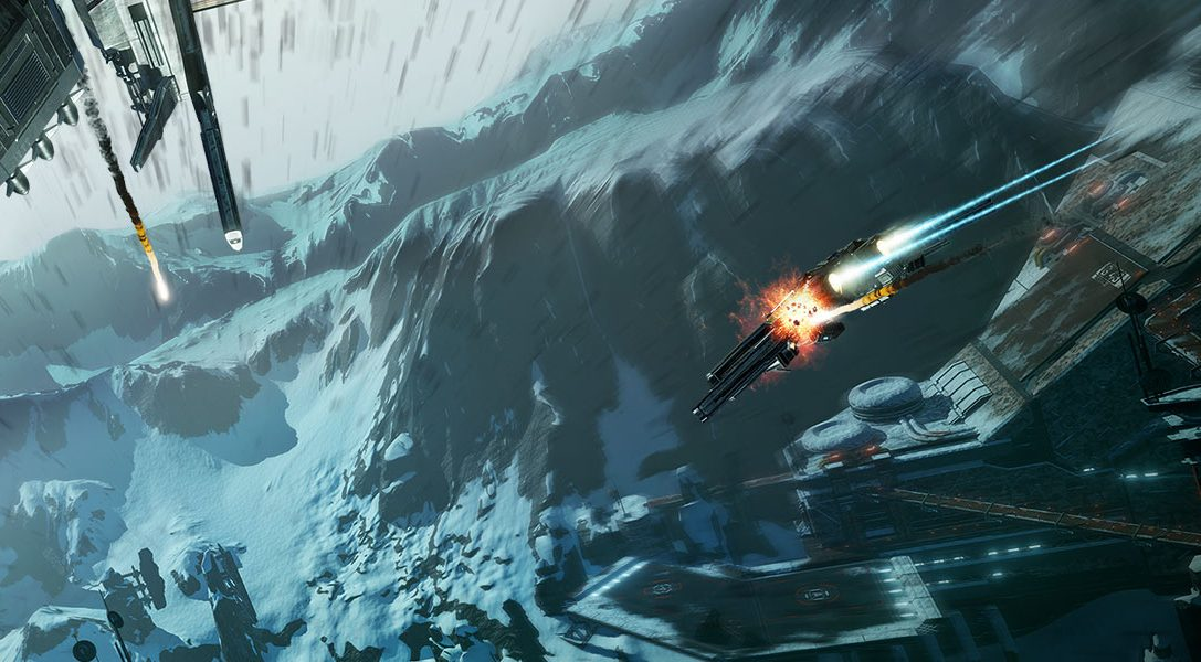 EVE: Valkyrie's new Groundrush update hurtles onto PS VR with new map, enhanced co-op and more