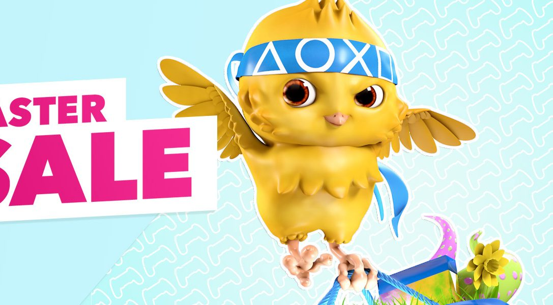 The PlayStation Store Easter Sale begins today