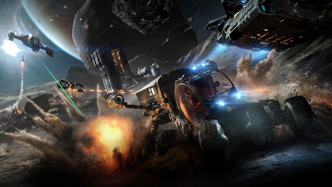 Elite: Dangerous Touches Down on PS4 June 27