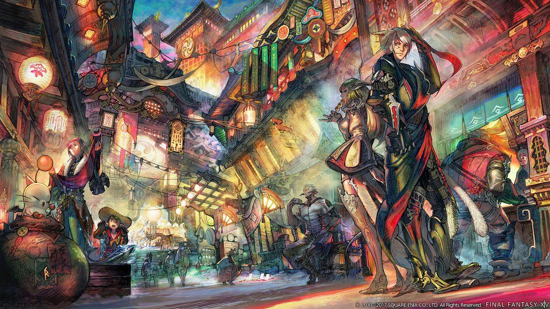 Final Fantasy XIV: Stormblood is a New Beginning