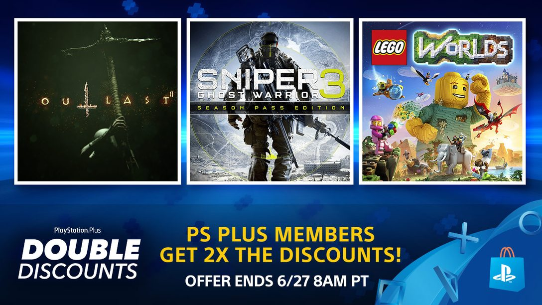 Double Discounts at PS Store: PS Plus Members Save 2X