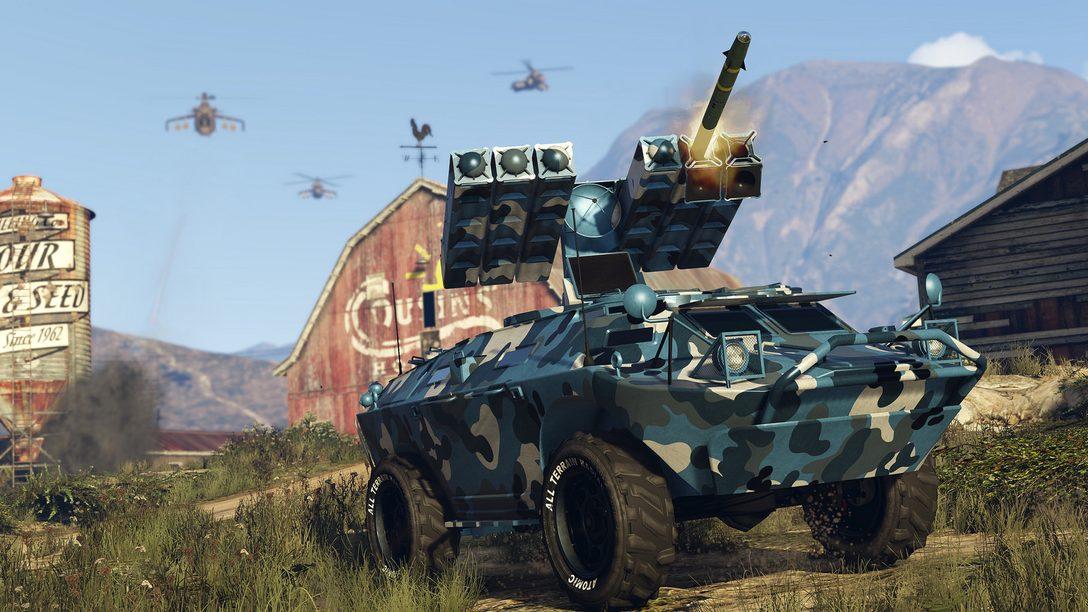 GTA Online's Newest Update, Gunrunning, Hits the Ground Running June 13th