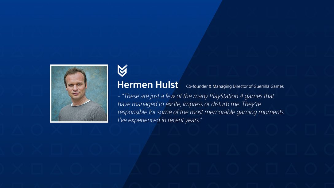 Discover The Creators: Hermen Hulst's Top 6 PS4 Games