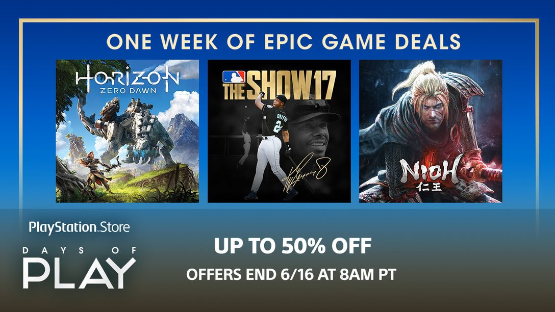 Days of Play Sale: Save on Games, Plus Membership & More