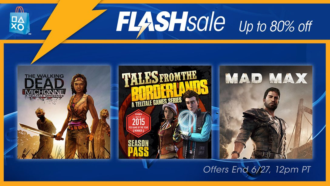 Flash Sale Now: Up to 80% on Bingeworthy Games