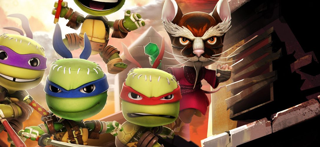 Littlebigplanet 3 Teenage Mutant Ninja Turtles Villains Costume Pack Arrives This Week Playstation Blog