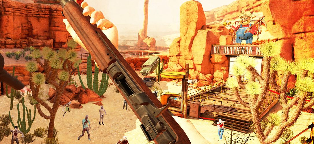 PS VR zombie shooter Arizona Sunshine is out tomorrow, with 10% off for PS Plus members