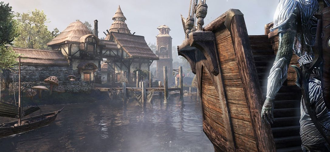 Return to Vvardenfell in The Elder Scrolls Online: Morrowind, out today on PS4