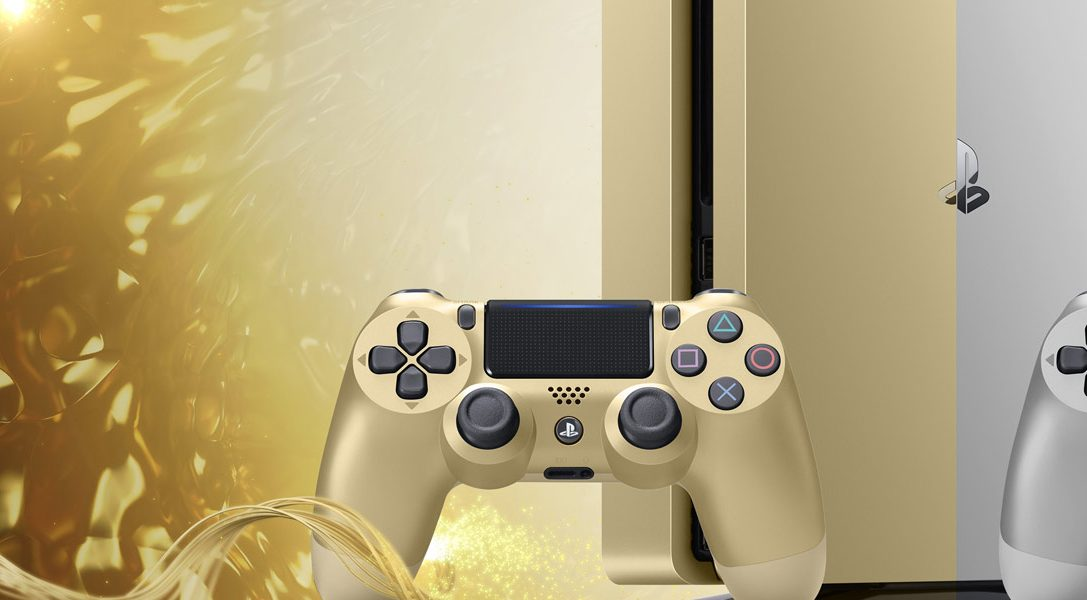 Limited edition Gold and Silver consoles join the PlayStation 4 family this month