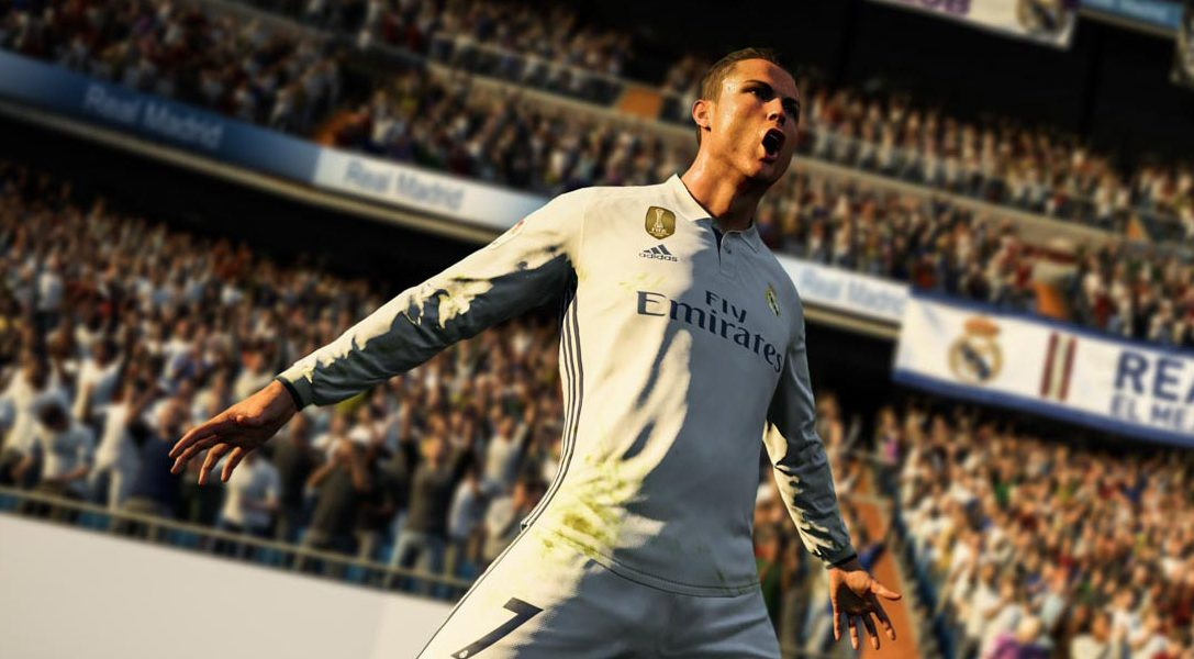 FIFA 18, fuelled by Cristiano Ronaldo, hits the PS4 pitch this September