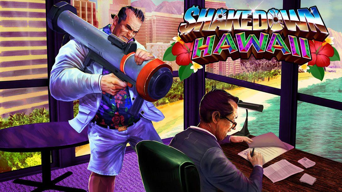 Shakedown: Hawaii – New Trailer, Story Mode & New Mechanics Detailed