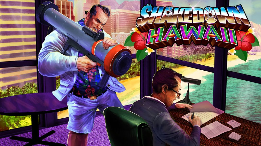 Shakedown: Hawaii – New Trailer, Story Mode & New Mechanics Detailed